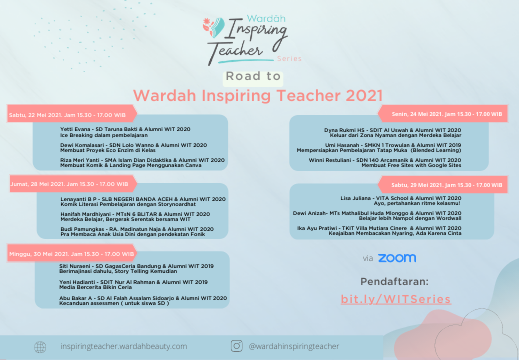 Wardah Inspiring Teacher